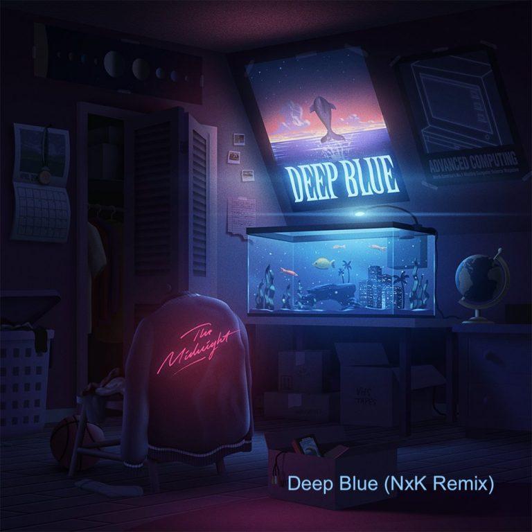 The Midnight     Deep Blue (NxK remix)